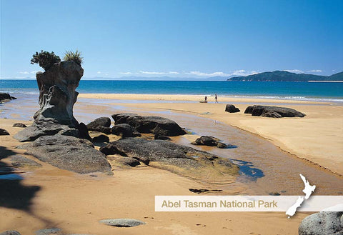 NM2532 - Totaranui Beach - Small Postcard