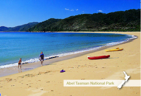 NM2533 - Totoranui Beach, Abel Tasman National Park - Small Postcard