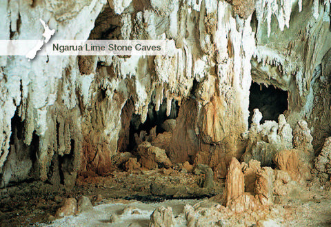 NM2548 - Ngarua Lime Stone Cave - Small Postcard