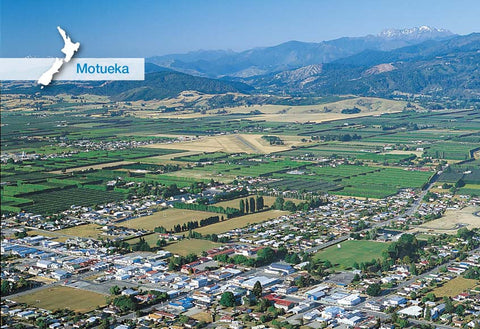 NM2561 - Motueka Aerial - Small Postcard