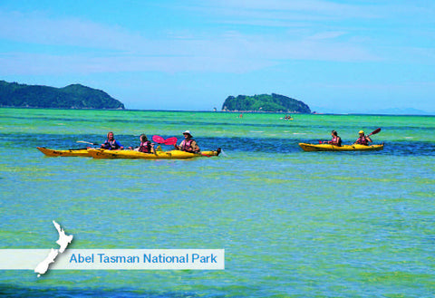 NM540 - Abel Tasman National Park - Small Postcard
