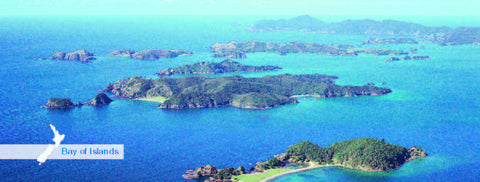 Bay of Islands - Panoramic Magnet