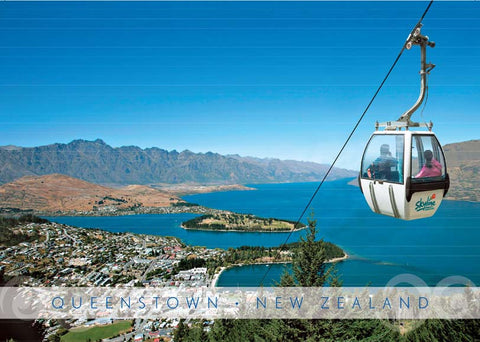 PM6653 - Queenstown Gondola -Placemat