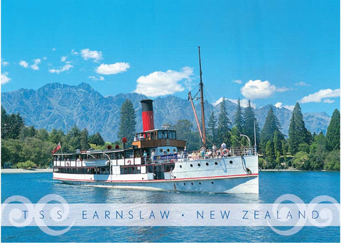 PM6664 - T.S.S. Earnslaw, Queenstown - Placemat