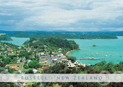 PM6674 - Russell, Bay Of Islands - Placemat