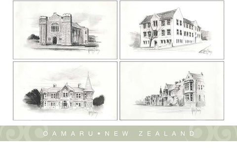 PM6777 - 4 View Oamaru Drawings 1
