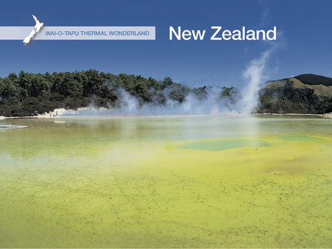 RT7297 - Wai-O-Tapu Thermal Wonderland - Large Postcard