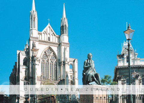 PM6780 - St Pauls  & Robbie Burns Statue - Placemat