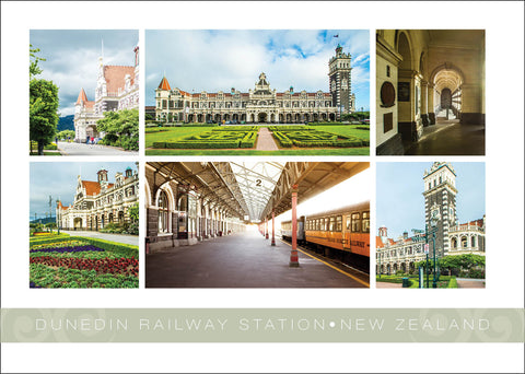 PM6783 - Dunedin Railway Station Multi - Placemat