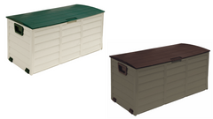Weatherproof Outdoor Garden Plastic Storage Utility Chest Cushion Case Box 280L