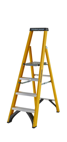 S400 Platform Fibreglass Step Ladder