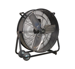 "Sealey HVD24 Industrial High Velocity Drum Fan 24"" 230V"