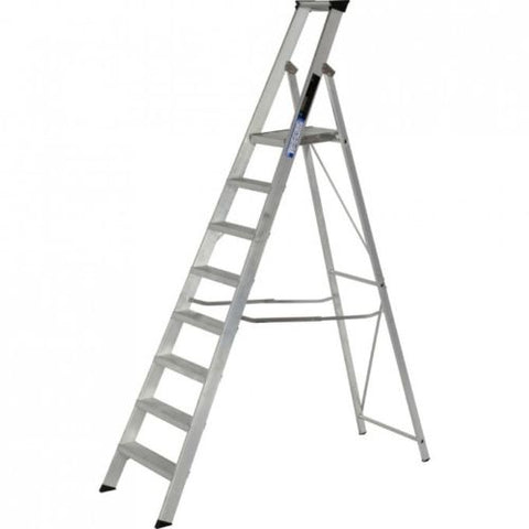Aluminium Step ladders Industrial Platform Steps BS2037 Class 1 Youngman Ladder