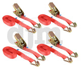 5m x 25mm 1 Ton Ratchet Strap