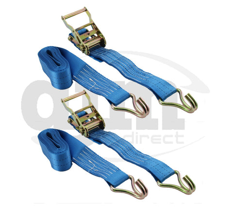 5m x 50mm 2 Ton Ratchet Strap