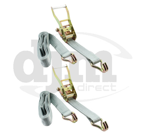 10m x 50mm 5 Ton Ratchet Strap