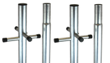 2 Piece Heavy Duty Galvanized Washing Pole