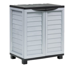 Garden Storage Cupboard 2 Door Cabinet with 2 Shelves