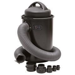 SIP 50 Litre Dust Collector Extractor 240v 01923 with 5 Piece Adaptor Set