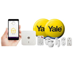 Yale SR-340 Smart Home Alarm System and Smartphone Control With View Camera