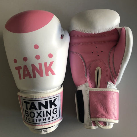 10oz Boxing Gloves Pink & White - Special Ops - Hurt Locker Perth Boxing Gym