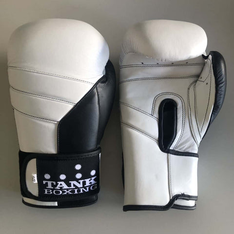 12oz Boxing Glove White Pro Edition - Hurt Locker Perth Boxing Gym
