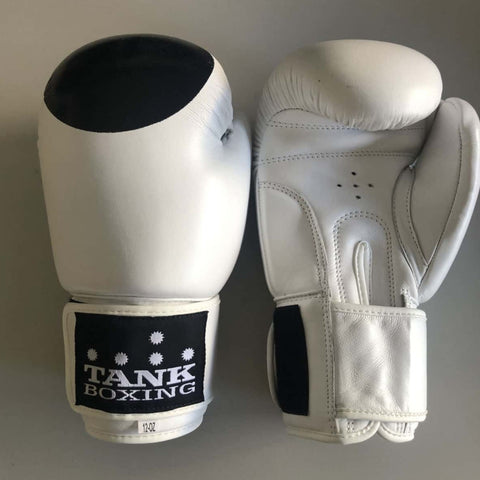 12oz Boxing Glove White Special Ops - Hurt Locker Perth Boxing Gym