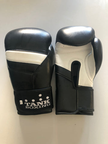 16oz Boxing Gloves Black - Pro Edition - Hurt Locker Perth Boxing Gym
