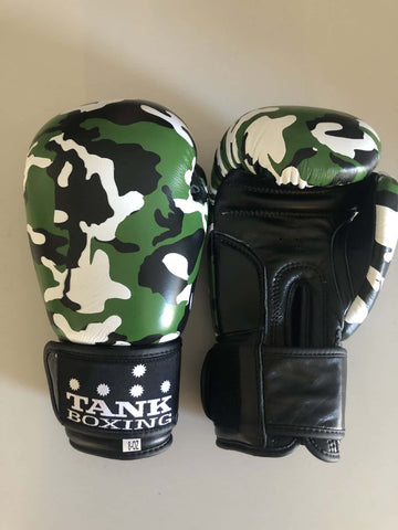 8oz Kids Boxing Glove Camo Cadets - Hurt Locker Perth Boxing Gym