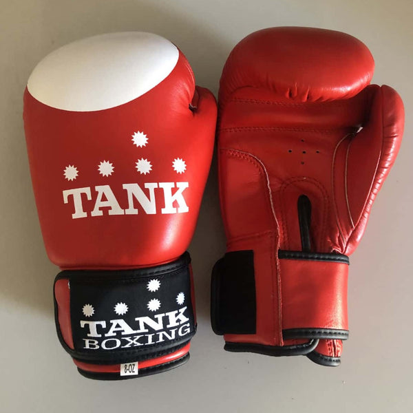 8oz Kids Boxing Glove Red & White Cadets - Hurt Locker Perth Boxing Gym