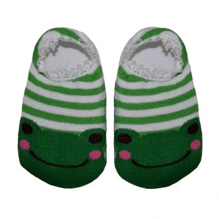 Green Froggy Stretchy Socks