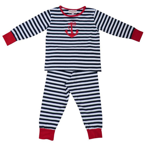 Navy Stripey Pyjamas