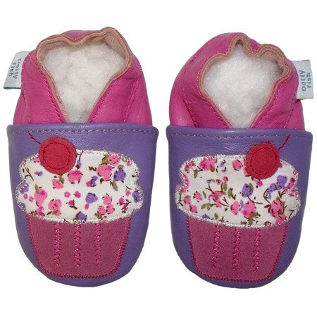 Cup-Cake Baby Shoe
