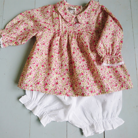 Baby Top Floral Pink