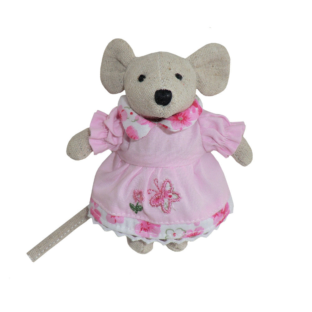 Pink Floral Mini Mouse