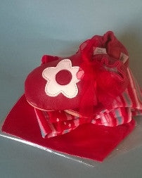 Red Daisy  Baby Bundle