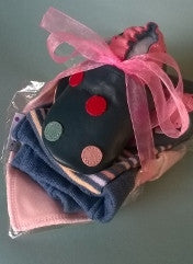 Navy Spotty Baby Bundle