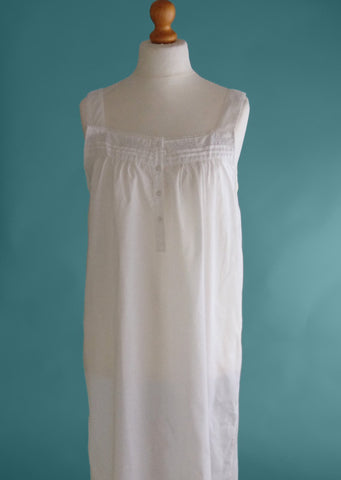 Jane Nightie with white embroidery