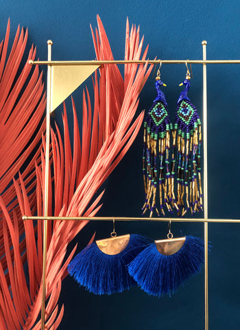 Peacock Earrings, Concept store Interior