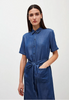 Armedangels Kleid Maaisa, basic denim blue
