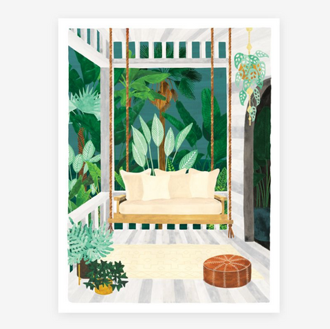 Art Print Veranda (small)