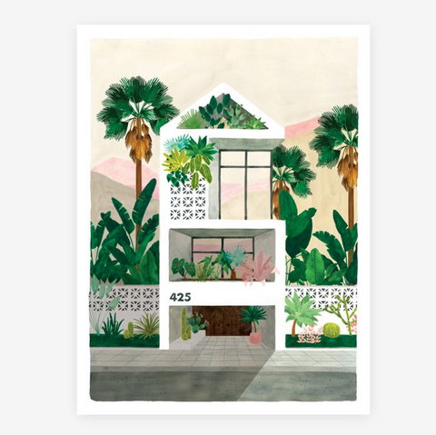 Art Print Traumhaus (medium)
