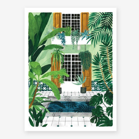 Art Print Riad (medium)
