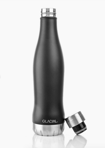 Glacial Bottle 600ml mat black