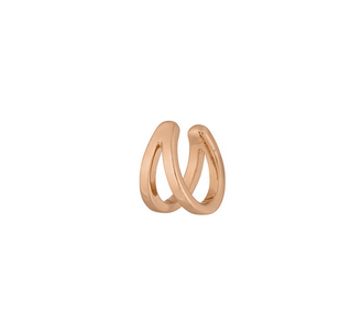 Earcuff double line rosegold