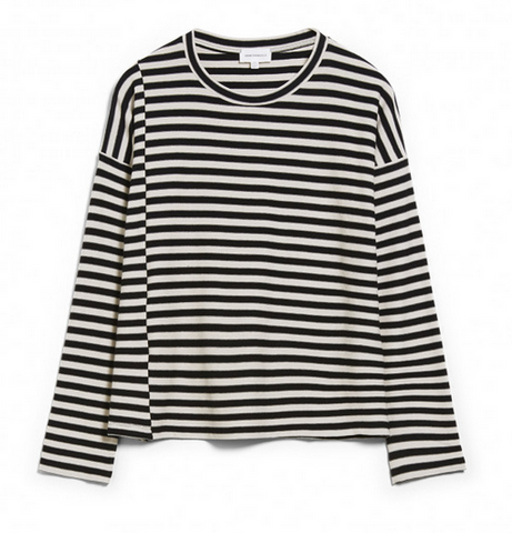 Top Palinaa knitted Stripe, Armedangels