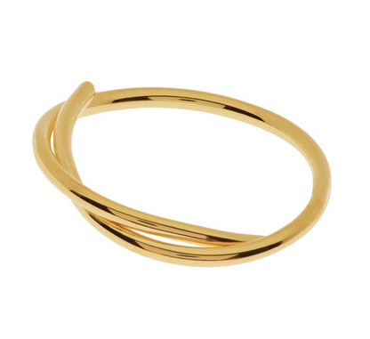 RIng Tupe Gold Leaf
