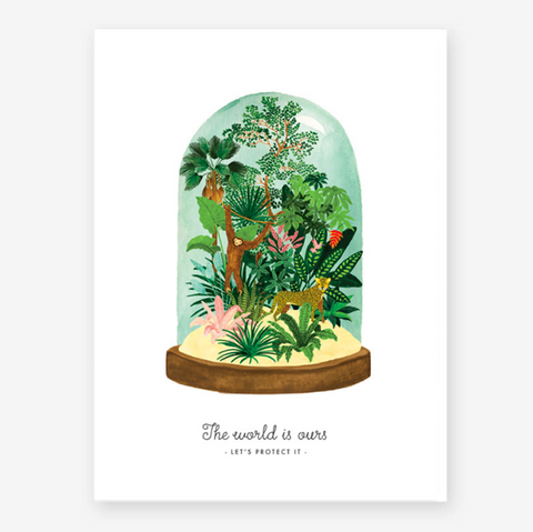 Art Print Protect our World (small)