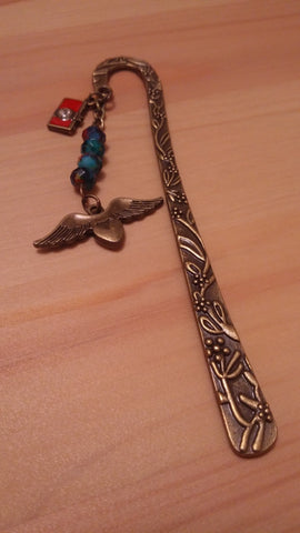 Pair Of Wings Brass Bookmark
