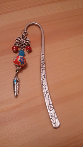 Feather Chrome Bookmark